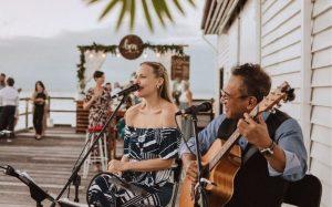 acoustic duo wedding entertainment